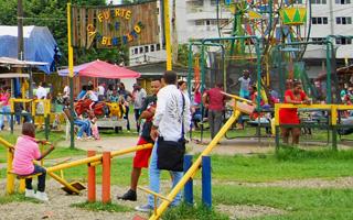 Parque público Fuerte de Carabineritos