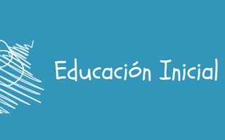 Ministerio de Educación – Educación inicial