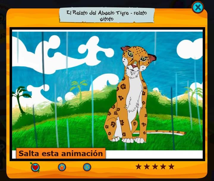 El relato del abuelo tigre