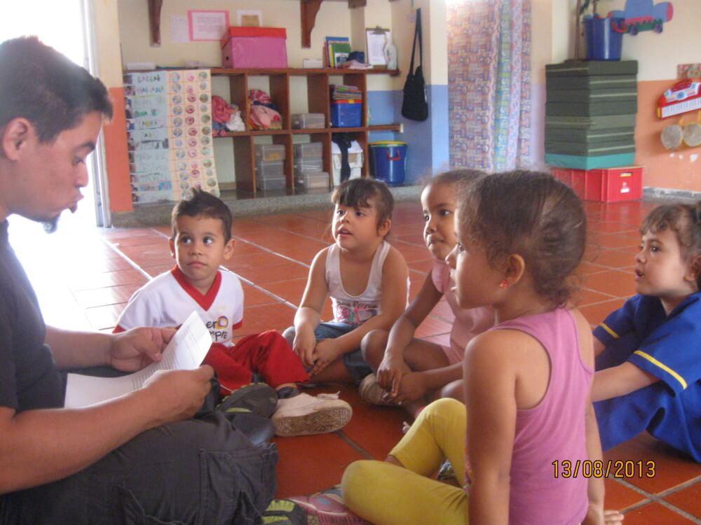 Proceso del proyecto Cuento con vos de la Corporación Encuentros (Buga, Valle del Cauca).