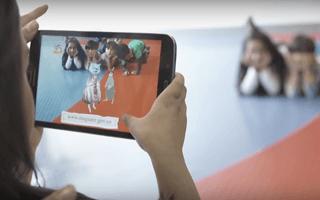 Pombo Mágico: los niños son parte de los cuentos