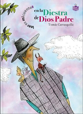 Ilustración del libro En la diestra de Dios padre.