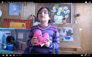 Marianita Imaginación, la youtuber de 8 años que se dirige a niños y adultos