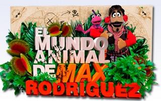 ¡Aventuras, títeres y animales! Mira con los niños El mundo animal de Max Rodríguez