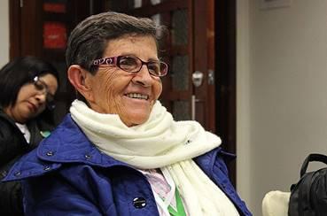 Carlota Restrepo Hincapié, es bibliotecaria y promotora de lectura desde hace 35 años en San Andrés (San Andrés y Providencia)