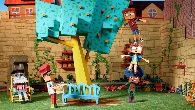 Puerto Papel es una serie original de Zumbastico Studios (Colombia) en coproducción con Gloob (Brasil), Señal Colombia, TVN (Chile) y Pakapaka (Argentina).