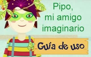 Descubre, imagina y crea con: Pipo, mi amigo imaginario