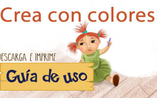 Descubre, imagina y crea con: Crea con colores