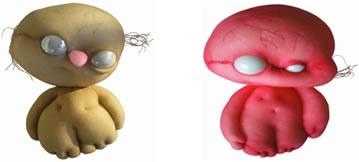 [Muñecos dulces y horribles. Fuente: http://misterios.co/2010/07/08/horriblesweet-munecos-dulces-y-horribles/]
