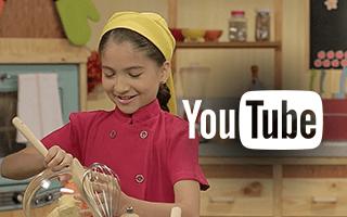 Josefina Super MegaChef, ¡ahora en YouTube!
