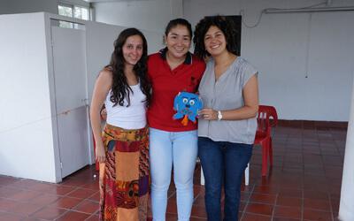 Viviana Díaz y María Juliana Molina, las mujeres que permiten leer con los sentidos