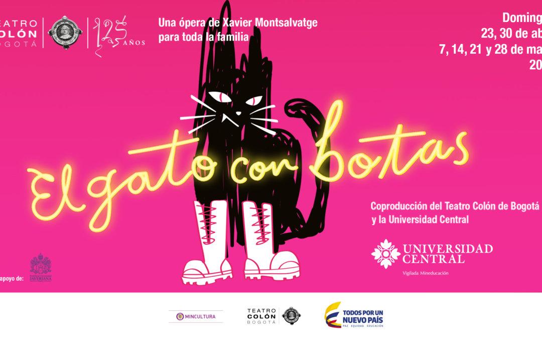 La ópera de El gato con botas llega al Teatro Colón