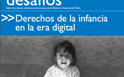 Las brechas digitales y la infancia en la Edición 18 de Desafíos de la UNICEF y CEPAL