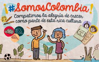 #SomosColombia una actividad para celebrar la colombianidad