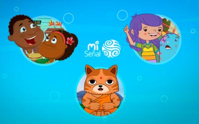 Mi Señal va más allá de la pantalla e invita a los niños a una experiencia para jugar y explorar