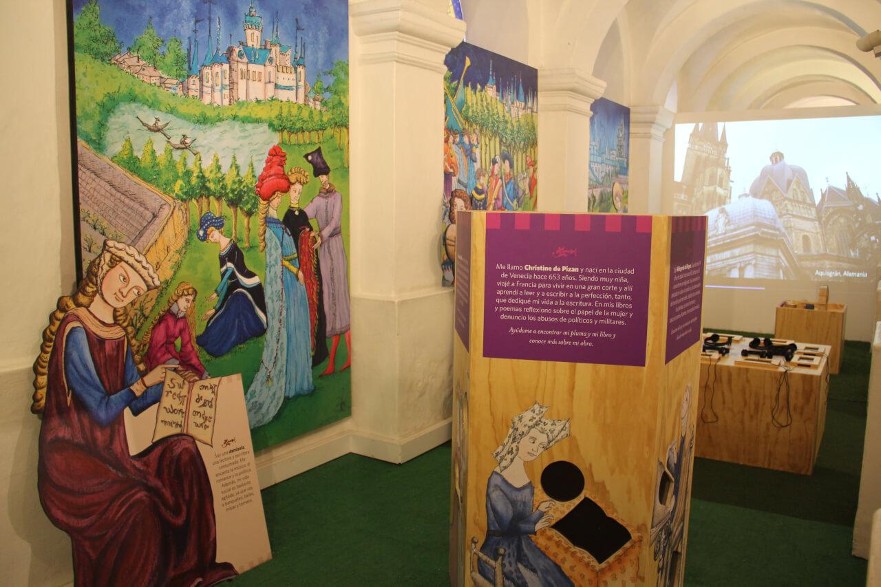 Exposición en museo para niños, la Edad Media