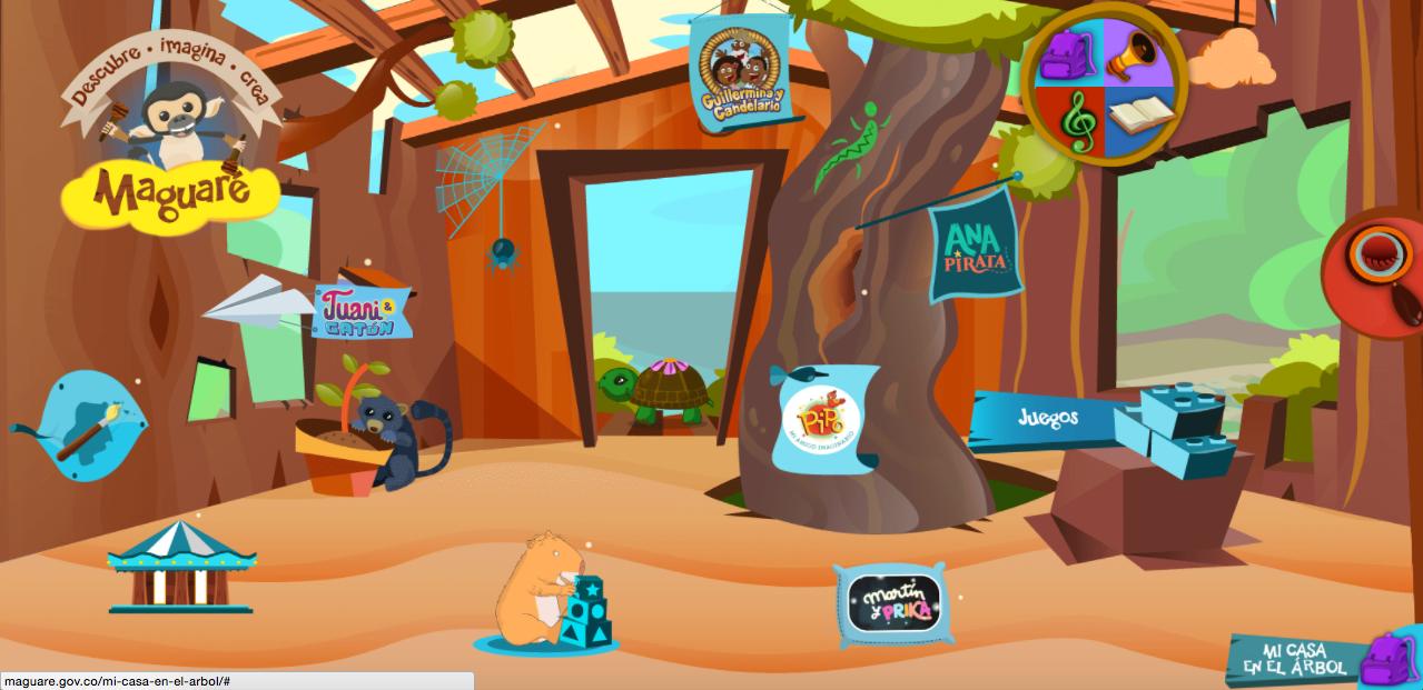 Página web gratis juegos para niños
