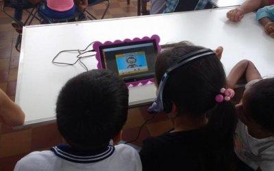 TESTIMONIO / Los niños de la Galaxia de Letras en Caquetá exploran las TIC con Maguaré