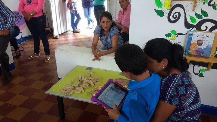 Biblioteca móvil actividades niños Maguaré