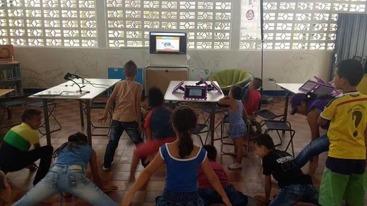 Actividades con Maguaré en bibliotecas