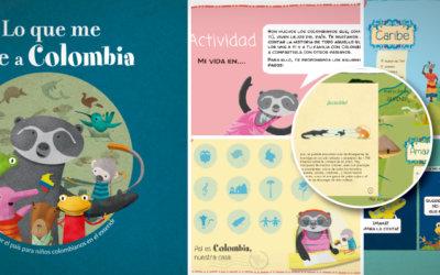 ¿Qué une a los niños a Colombia, aunque estén en otro país?