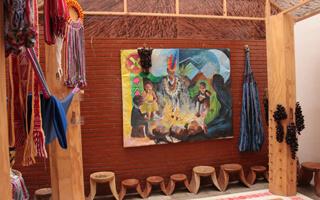 Casa de pensamiento Shinyak, un espacio del pueblo Kamentza en la ciudad