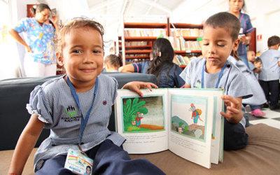 667.000 niños colombianos son nuevos lectores