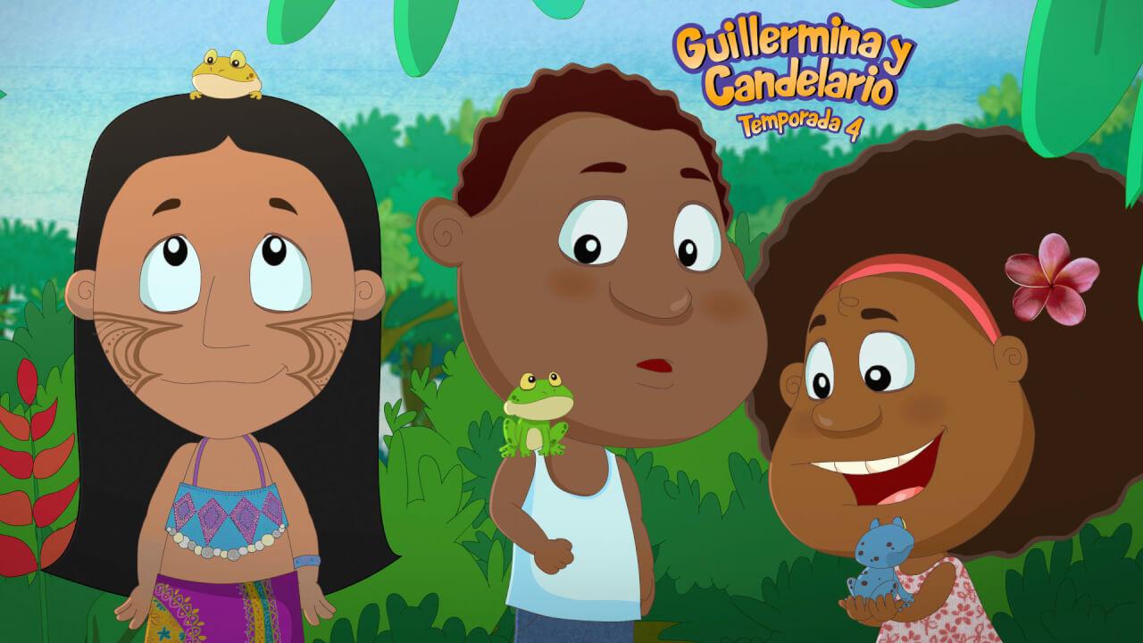 Series latinoamericanas para niños diversidad afro