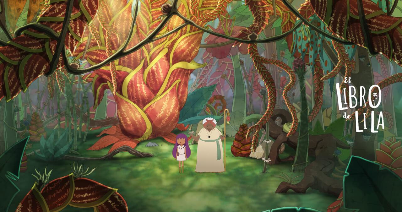 El libro de Lila, película colombiana animada para niños