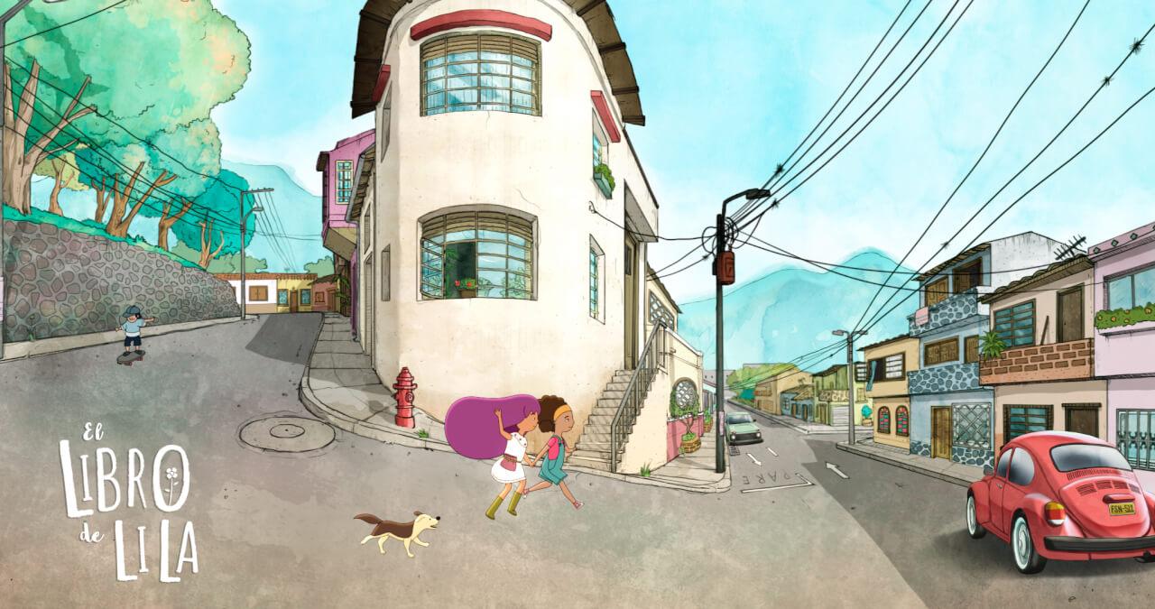 Película animada colombiana El libro de Lila, Fosfenos Media, Maritza Rincón, Marcela Rincón