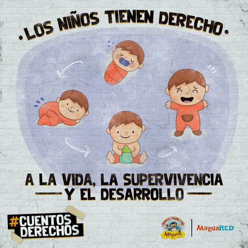 Derecho de los niños y niñas a la vida, #CuentosDerechos, cuentos