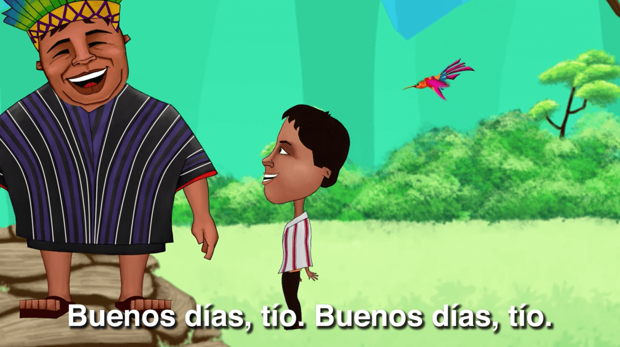 Saludo Bonito canciones étnicas comunidades indígenas escuchar gratis en línea video