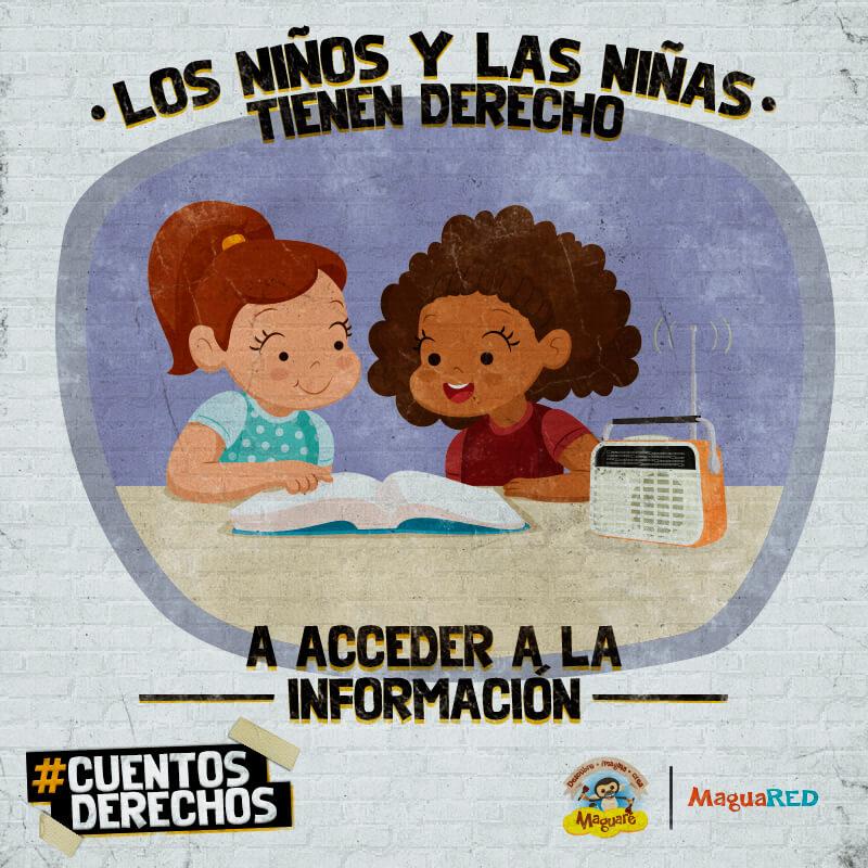 Derechos de los niños y las niñas, acceso a la información