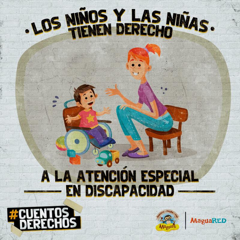 Cuentos para hablar de los derechos de las niñas y niños con discapacidad