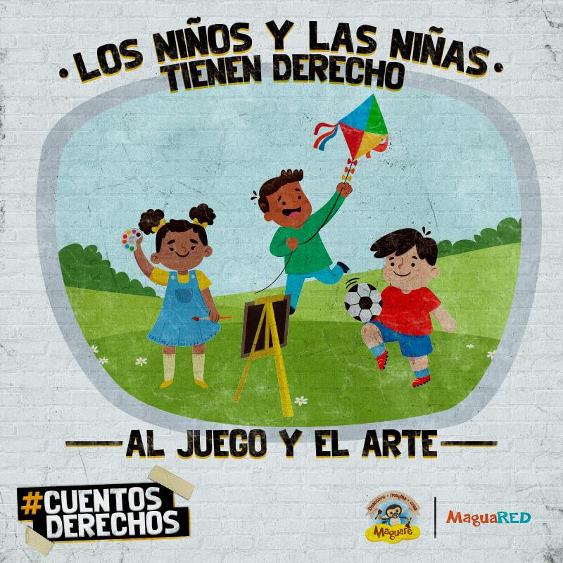 Derechos de los niños y niñas, derecho al juego, derecho al arte