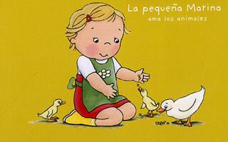 Para leer con tus niños: La pequeña Marina ama a los animales