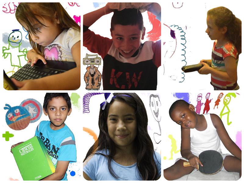 Yulian, Brady, Sofía, Rubén, Liliana y Daniel son algunos de los niños de Villavicencio, Bogotá, Medellín, Barranquilla y Cali que hicieron parte del trabajo de campo.