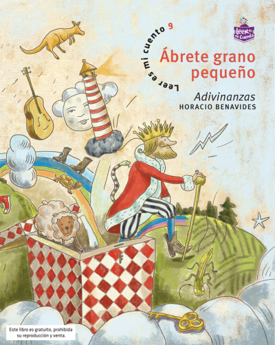 Este libro es el el tomo 9 de la colección Leer es mi cuento y está dirigido especialmente a la primera infancia.