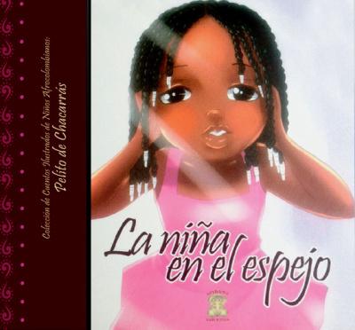 La niña en el espejo (2012) es otro libro infantil de Mary Grueso Romero. En él, una niña negra reconoce su belleza y se da cuenta que la heredó de su madre.