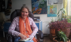Stephanie Rückoldt llegó hace 11 años a Colombia con el sueño de acercar el cine a los niños a través de vivencias que les permitiera expresarse, crear y convivir.