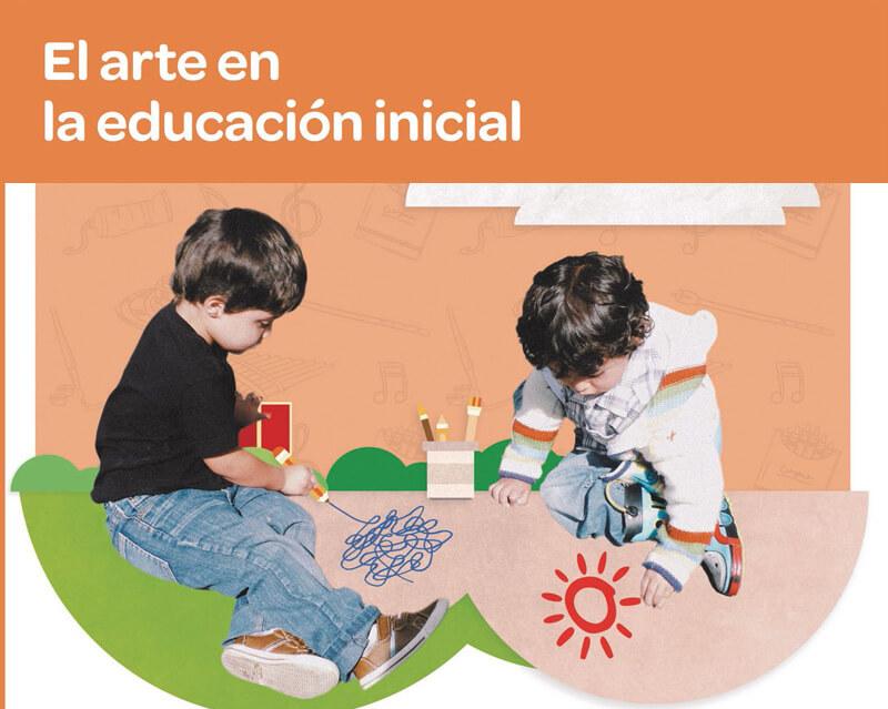 El arte en la educación inicial es uno de los doce tomos que componen la serie de orientaciones pedagógicas para la educación inicial en el marco de la atención integral.