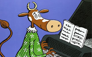 Para leer con tus niños: Sofía, la vaca que amaba la música