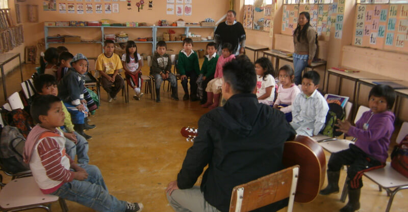 Baseng Chamatabouinÿ Javersiam: Para que los niños y las niñas aprendan a cantar.