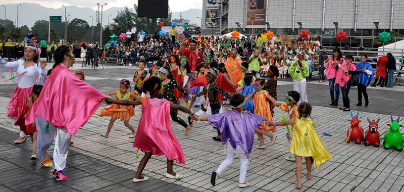 Foto cortesía de la maestra Ruth Albarracín Barreto del Colegio Agustín Fernández de Bogotá D.C.