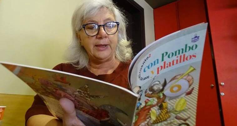 Grazia Gotti se encuentra a cargo de la librería para niños Giannino Stoppani de Bolonia, considerada una de las más importantes en el mundo.