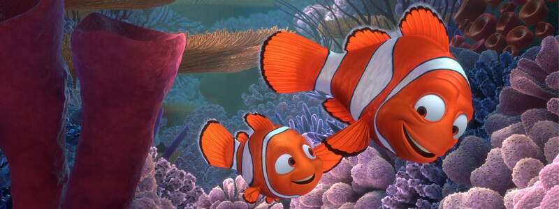 Buscando a Nemo (2003).