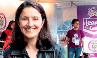 """""""¡Un país que lee es capaz de alcanzar la reconciliación!"""": Claudia Rueda"""