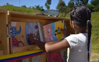 Bicilibros, el programa que pone a rodar la lectura por Colombia