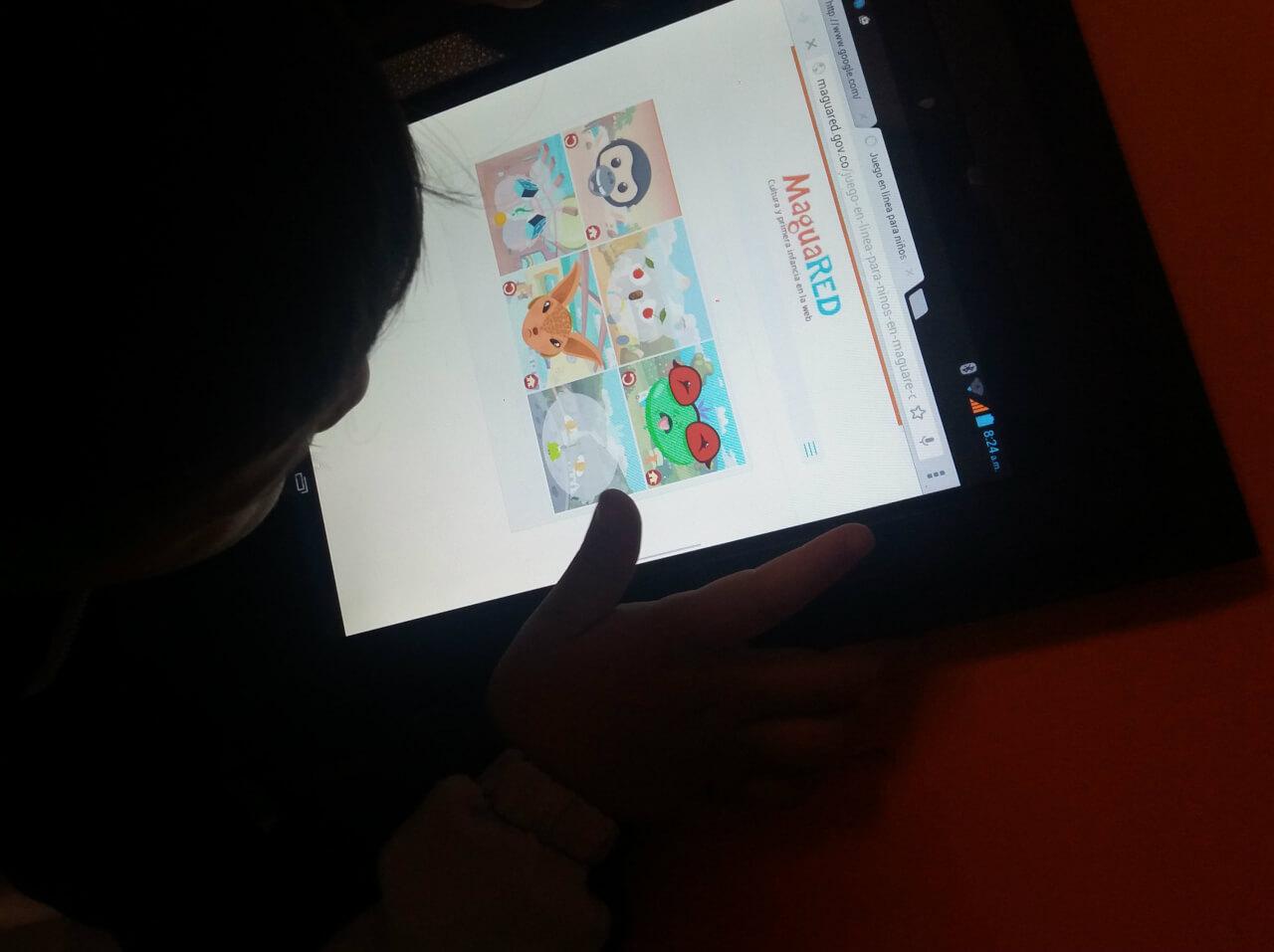 Contenidos en internet para niños. Tablets, móviles, computadores y TIC