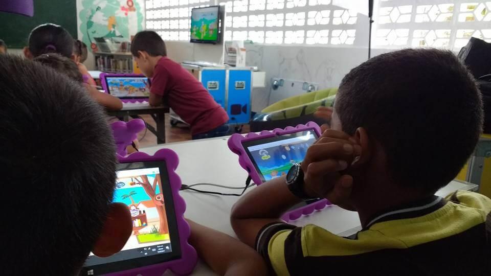 Biblioteca móvil actividades niños